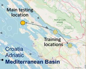 Mediterranean tester located in Croatia