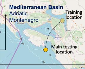 Mediterranean tester located in Montenegro
